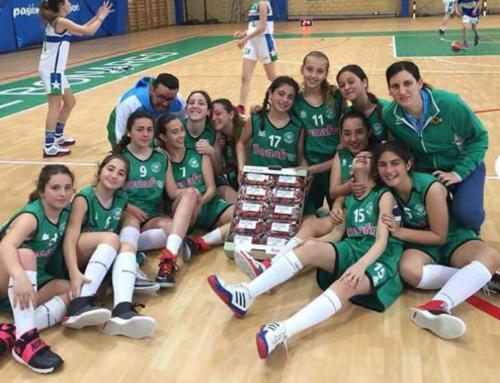 Los frutos rojos de Bonafrú se suman a la victoria del Club de Baloncesto Infantil de Bonares