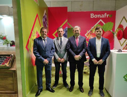 """Bonafrú fortalece sus relaciones comerciales con """"muy buenas sensaciones"""" de su participación en Fruit Attraction"""